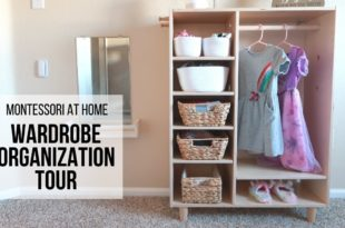 MONTESSORI AT HOME: Montessori Wardrobe Organization TOUR!